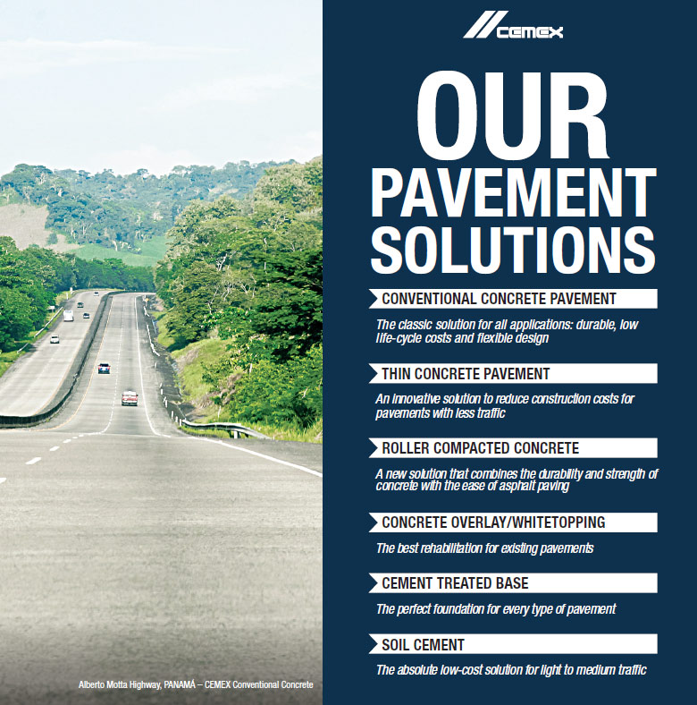 Figure. Our Pavement Solutions.